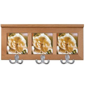 Decorative Coat Rail Flower Design Coat Rack