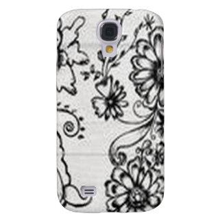 Decorative floral design HTC vivid / raider 4G case