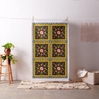 Decorative floral fabric