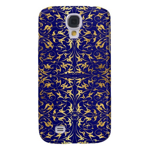Decorative Floral Motif Galaxy S4 Covers