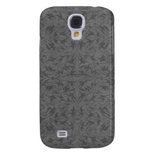 Decorative Floral Motif Samsung Galaxy S4 Cases