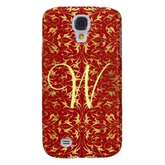 Decorative Floral Motif Galaxy S4 Cover