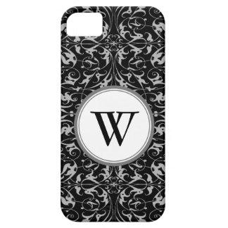 Decorative Floral Motif iPhone 5 Cases