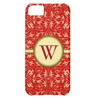 Decorative Floral Motif iPhone 5C Case