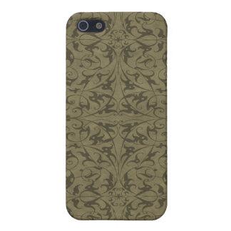 Decorative Floral Motif iPhone 5 Cover
