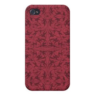 Decorative Floral Motif iPhone 4 Case