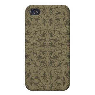 Decorative Floral Motif iPhone 4 Cover