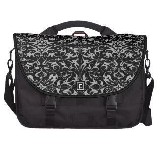 Decorative Floral Motif Commuter Bags