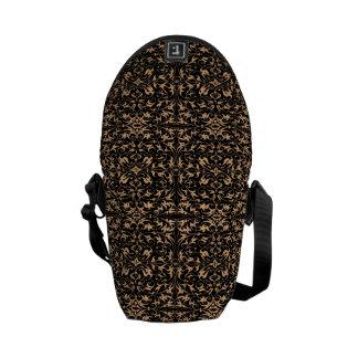 Decorative Floral Motif Courier Bags