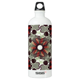 Decorative floral pattern SIGG traveller 1.0L water bottle