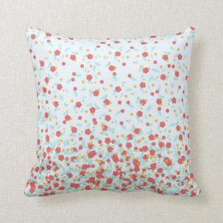 Decorative Floral Throw Pillow
