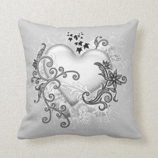 Decorative Heart Cushion