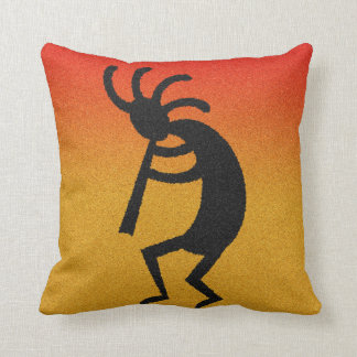 Decorative Kokopelli Southwestern Design Pillow
