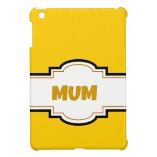 Decorative Mum iPad Mini Case