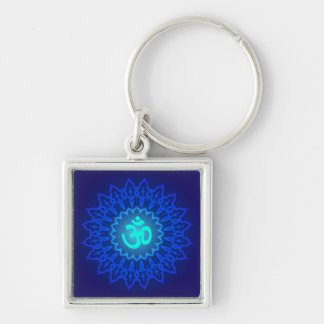 Decorative Om Design Key Ring