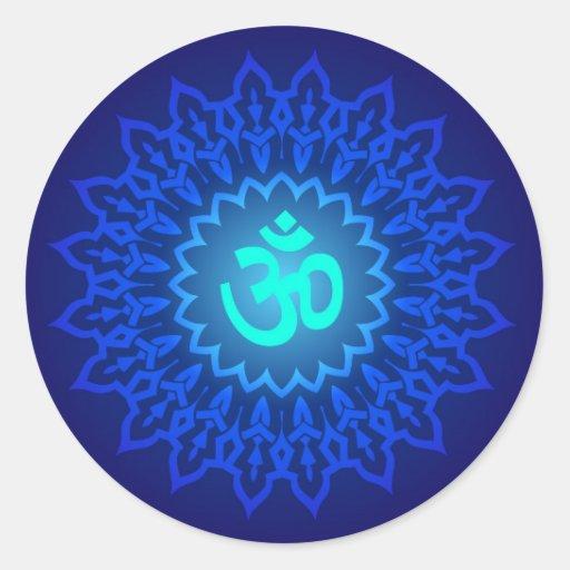 Decorative Om Design Sticker