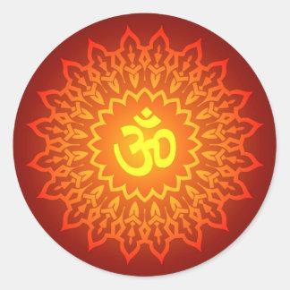 Decorative Om Design Stickers