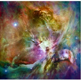 Decorative Orion Nebula Galaxy Space Photo Photo Sculpture Key Ring