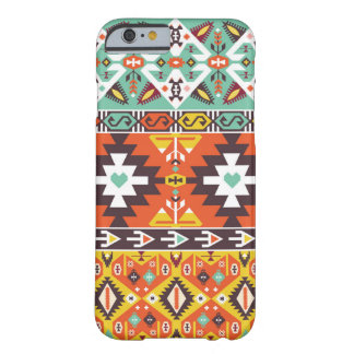 Decorative pattern in aztec style barely there iPhone 6 case