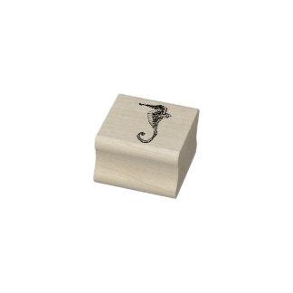 Decorative Seahorse Rubber Stamp