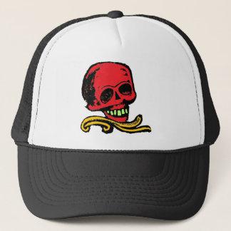Decorative Skull Trucker Hat