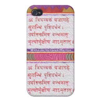 Dedication to MAHA-MRITUNJAY Mantra Covers For iPhone 4
