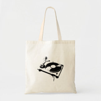 Deejay DJ Turntable Tote Bag | Ibiza House Music