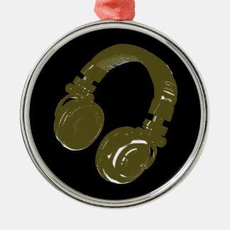 deejays headphone christmas ornament