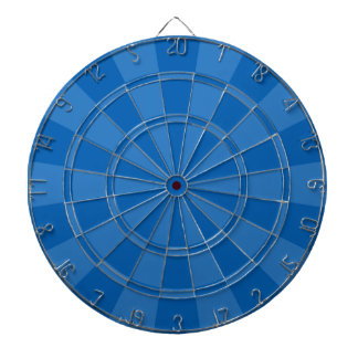 Deep Blue Dartboard