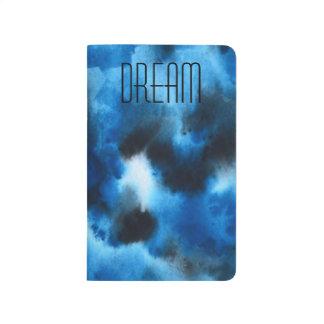 Deep Blue Marble Mini Pocket Journal