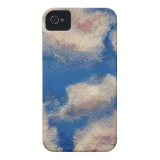 DEEP BLUE SKY (a sky with clouds design) ~ iPhone 4 Cover