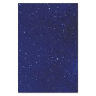 Deep Blue Starry Sky Tissue Paper