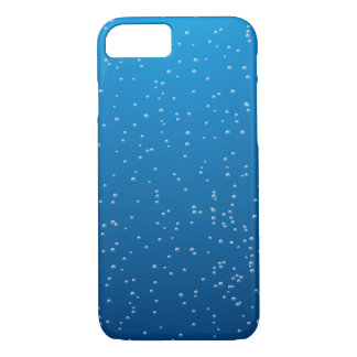 Deep Blue Water and Tiny Bubbles iPhone 7 Case
