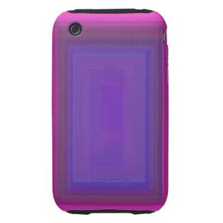 Deep Dark Pink iPhone 3 Tough Cases