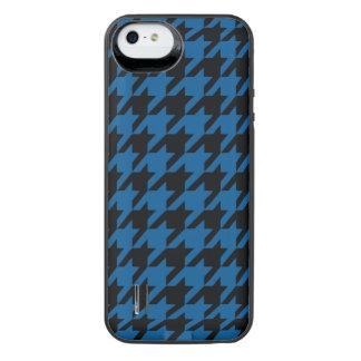 Deep Ocean Houndstooth 2 iPhone SE/5/5s Battery Case