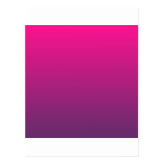 Deep Pink to Imperial Horizontal Gradient Postcard