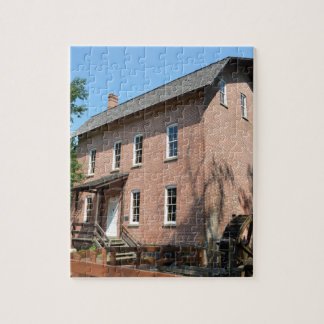 Deep River Water Mill Jigsaw Puzzle