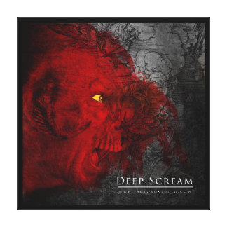 Deep Scream Canvas Print