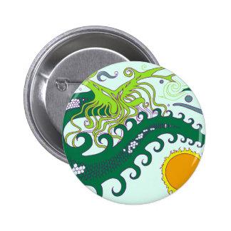 Deep sea Dragon badges (Green)