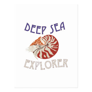 Deep Sea Explorer Postcard