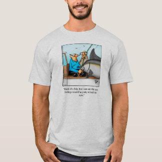 Deep Sea Fishing Humor Tee Shirt