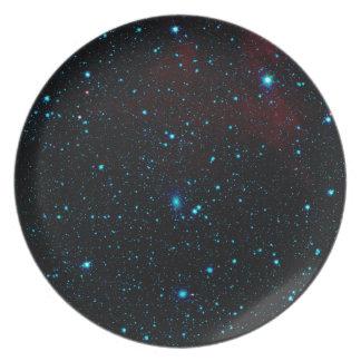 DEEP SPACE STAR EXPANSE ~ DINNER PLATES