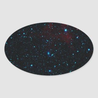 DEEP SPACE STAR EXPANSE ~ OVAL STICKERS