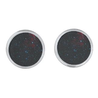 DEEP SPACE STAR EXPANSE ~ SILVER FINISH CUFFLINKS