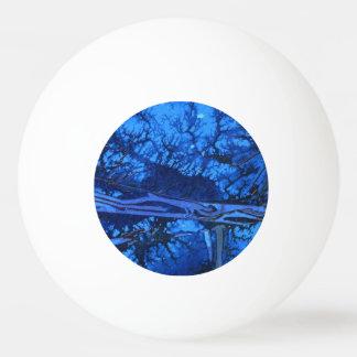 """""""Deep Water #3"""" Abstract Ping Pong Ball"""