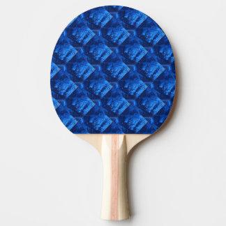 """Deep Water #6"" Abstract Ping Pong Paddle"