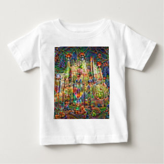 DeepDream Pictures, Cathedral Baby T-Shirt