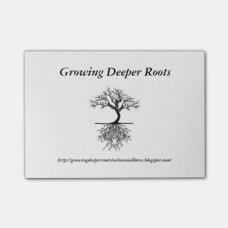Deeper Roots Sticky Notes