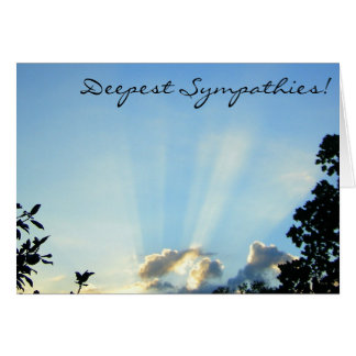 Deepest Sympathies! Card