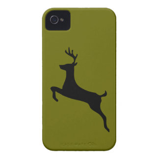 Deer buck stag antlers silhouette iPhone 4 4S Case-Mate iPhone 4 Cases